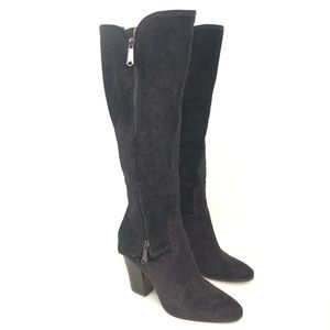 DJP Size 8.5 Black Bronze Sparkle Sandora Boot